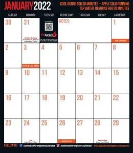 2022 Firefighters Calendar 'Cat Calendar'
