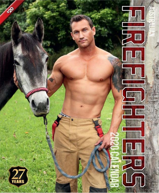 2020 Firefighters Calendar 'Horse Calendar'