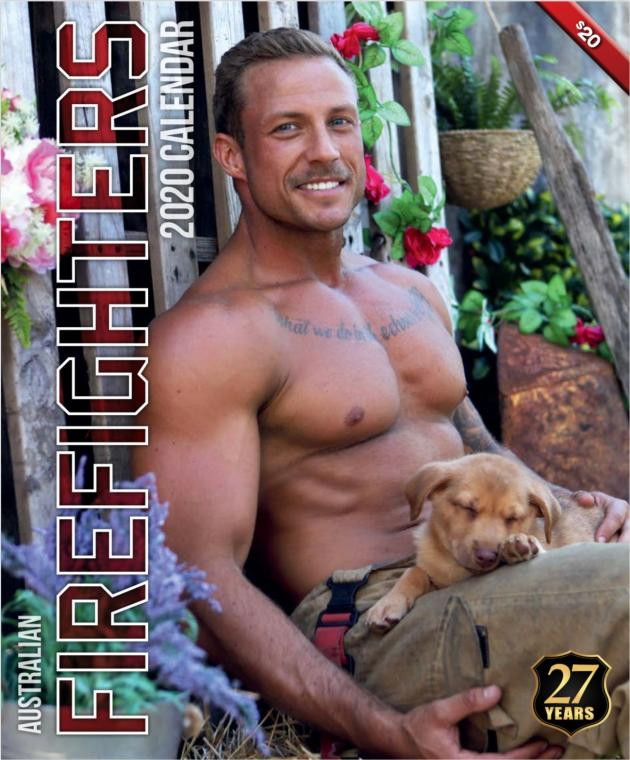 2020 Firefighters Calendar 'Dog Calendar'