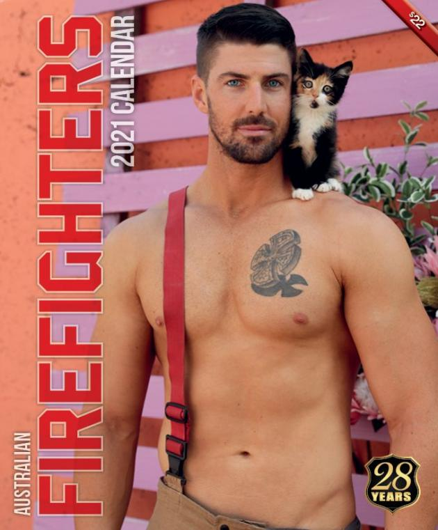 2021 Firefighters Calendar 'Cat Calendar'