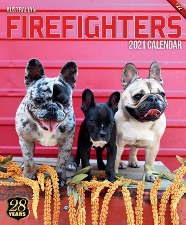 2021 Firefighters Calendar 'Animal Calendar'