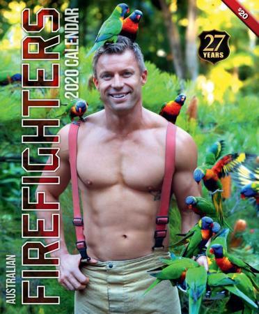 Calendario For Mens 2020.Australian Firefighters Calendar Raising Funds For