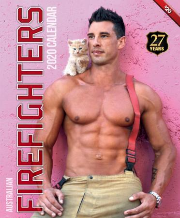 2020 Firefighters Calendar 'Cat Calendar'