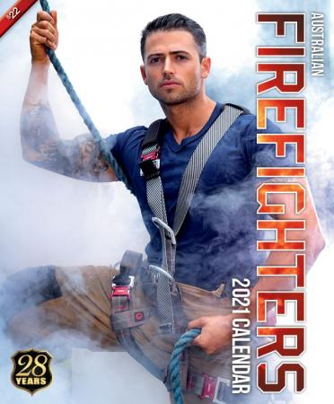 2021 Firefighters Calendar 'Hero Calendar' (Firefighters shirts on)