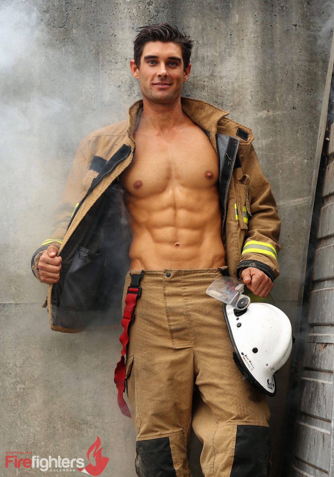 Its Steaming Men, Hallelujah: Australian Firefighters Get