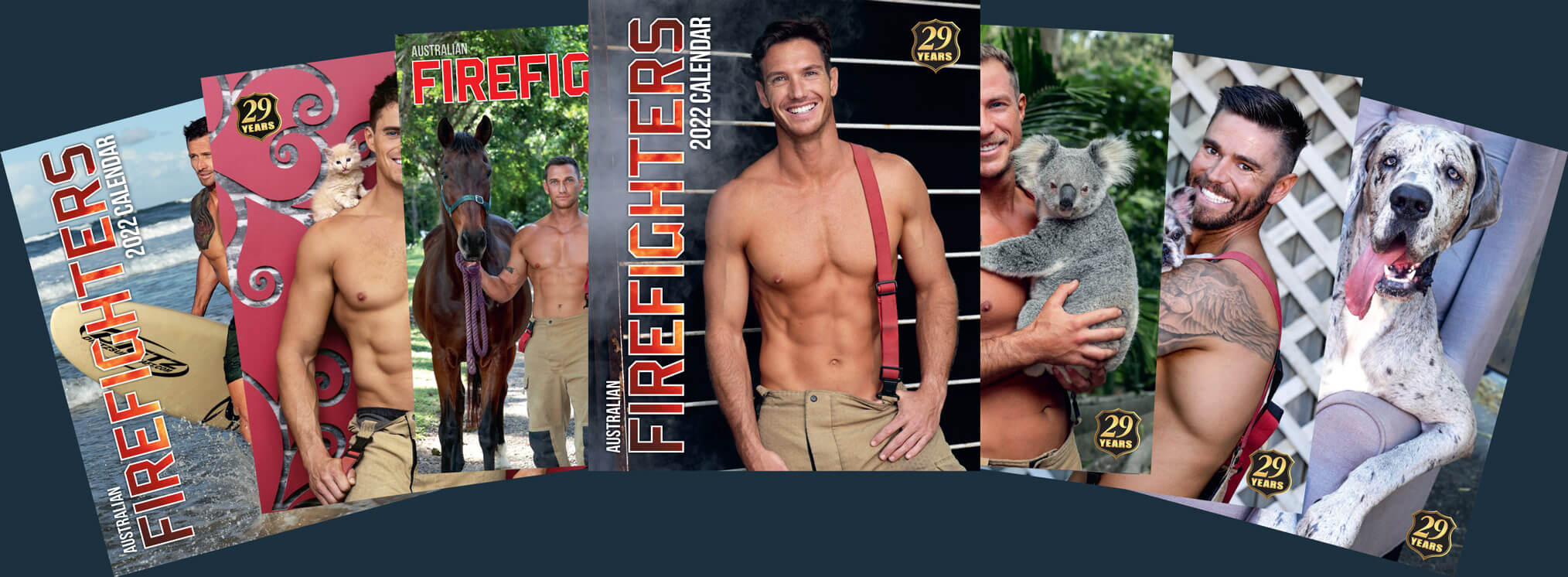 Australian Firefighters 2022 Calendars